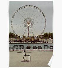 Great Wheel, Paris Poster