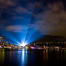 Vivid Projection by Mathew Courtney