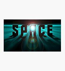 Space Stars Trek Sci fi Photographic Print