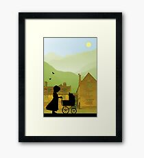 Childhood Dreams, The Pram Framed Print