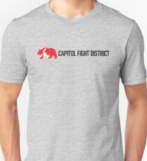 Capitol Fight District Tee with black font Unisex T-Shirt