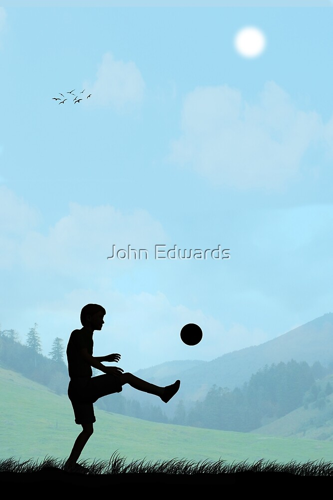Childhood Dreams, Football by John Edwards