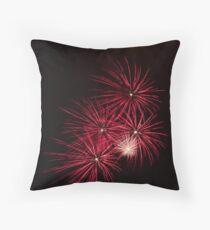 Pyrotechnics Pattern Throw Pillow