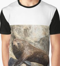 New Zealand Fur Seal 2 Graphic T-Shirt