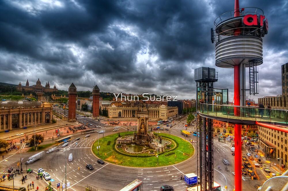 Plaza de Espanya - Barcelona by Yhun Suarez