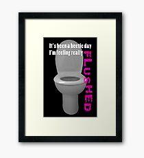 Toilet Humor Framed Print