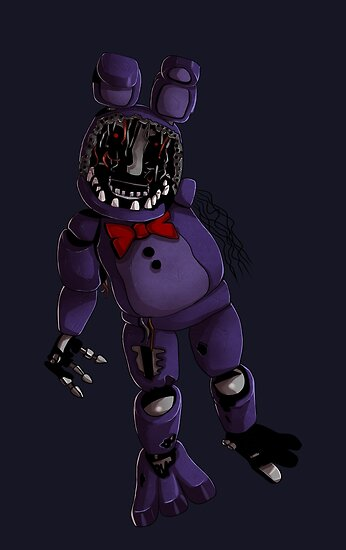Quot Fnaf 2 Withered Bonnie Design Quot Posters By Ladyfiszi