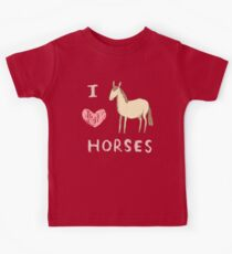 I ❤ Horses Kids Clothes