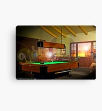 Pool Ghosts Canvas Print