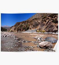 Chile, River Maipo, Poster