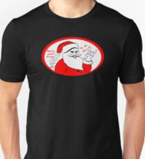 Heavy metal Santa Claus rocks this Xmas! T-Shirt