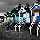 Wells beach hut by Mark Bunning