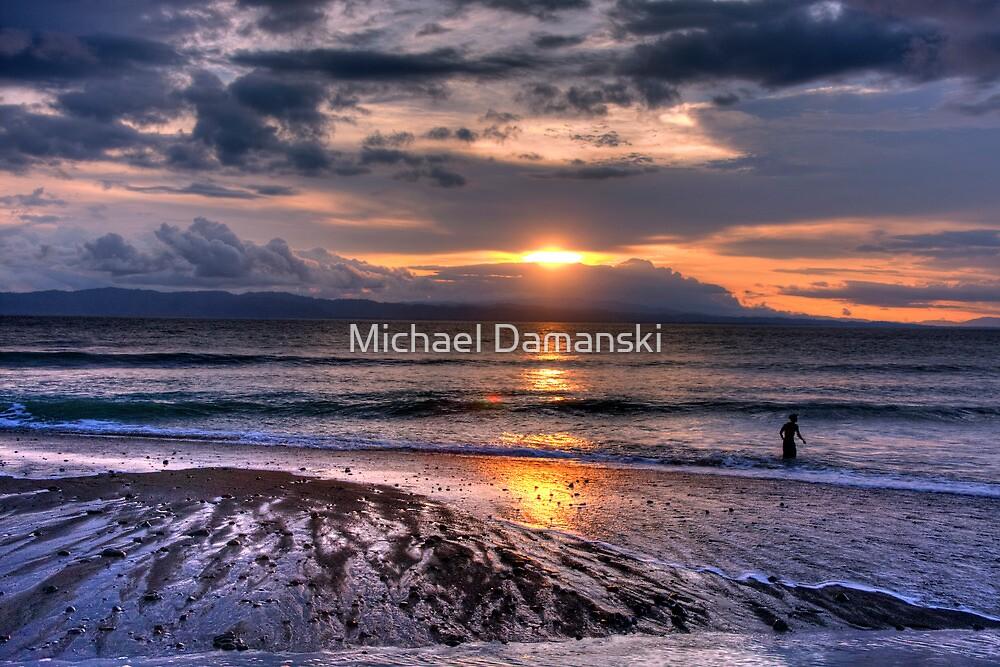 Pavones Sunset by Michael Damanski