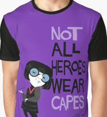 NO CAPES Graphic T-Shirt