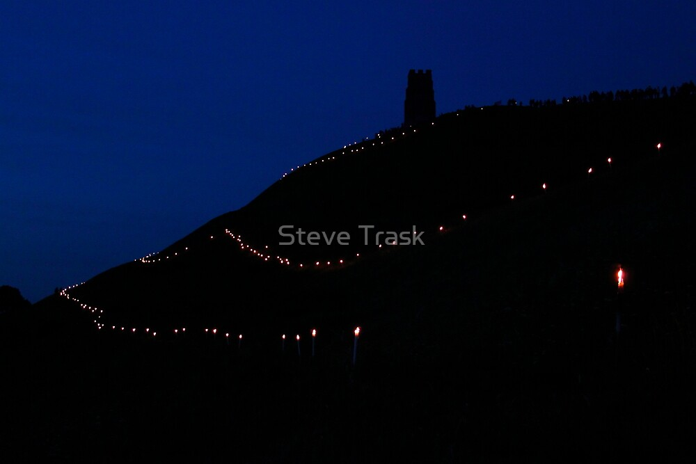 Glastonbury Tor Jubilee    by Steve Trask