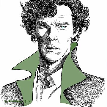 The Sherlock Variations (Green) by NadddynOpheliah
