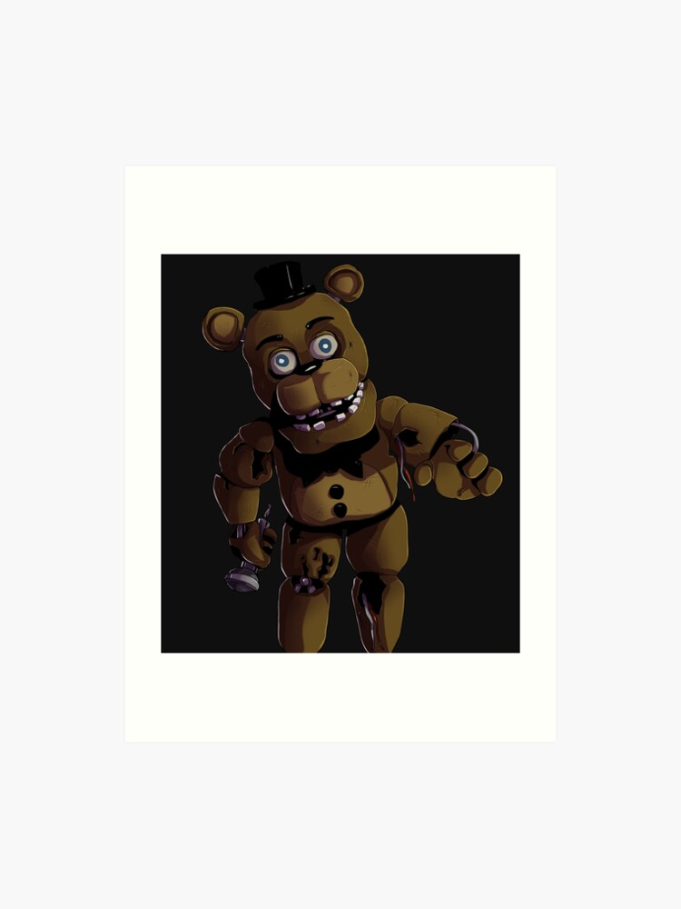 FNAF 2 Withered Freddy Fazbear | Art Print