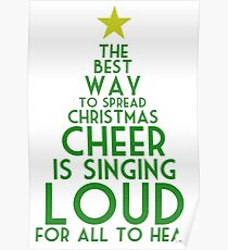 Spread Christmas Cheer Poster