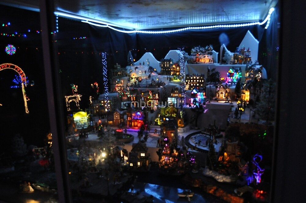 Xmas Lights Village by mbutwell