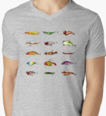 Lures Men's V-Neck T-Shirt