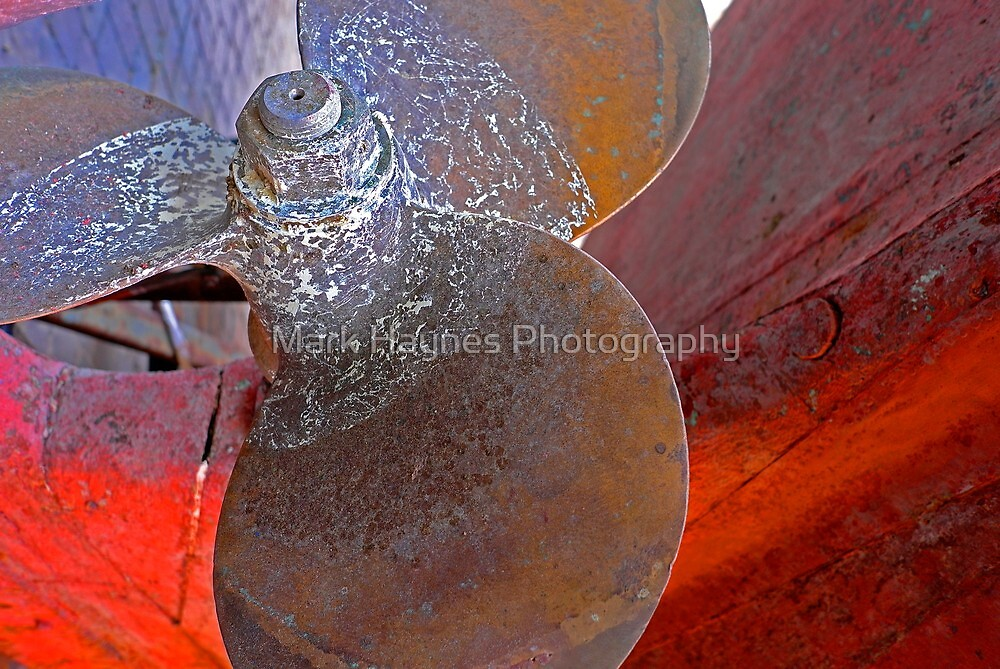 Textured Hull 2 by Mark Haynes Photography