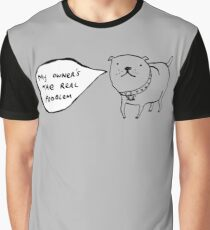Staffies Aren't Evil Graphic T-Shirt