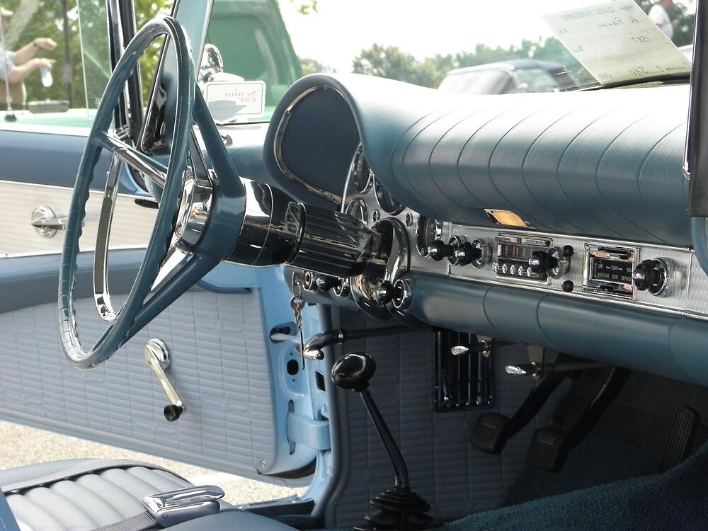 57 Thunderbird Interior by AJ Belongia