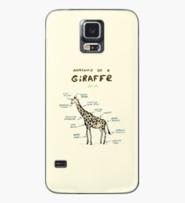 Anatomy of a Giraffe Case/Skin for Samsung Galaxy