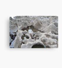 Wales, Trecco Bay rockpoool Metal Print