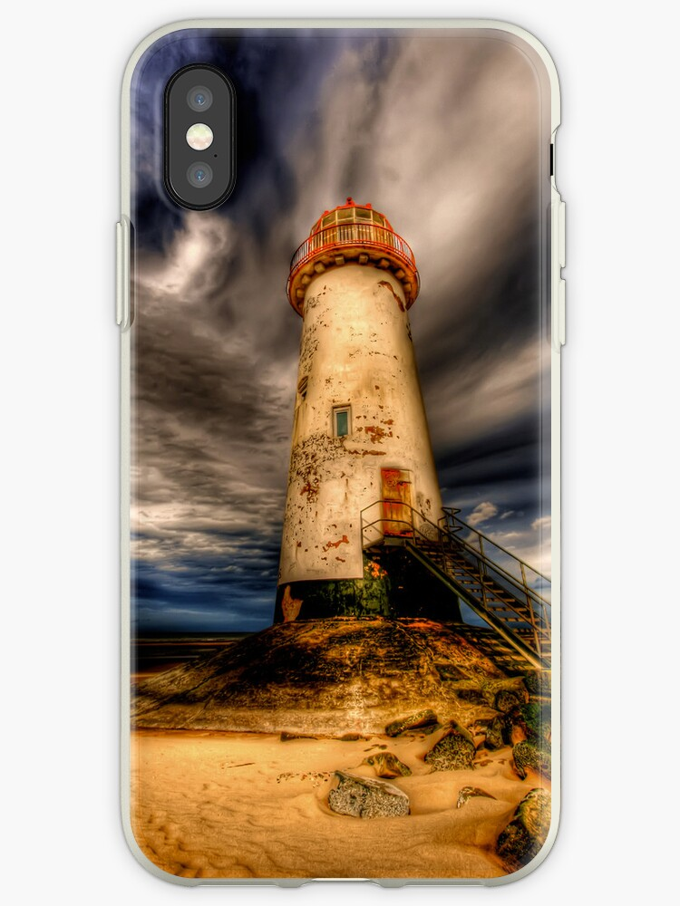 iPhone Case of Talacre Lighthouse by Adrian Evans