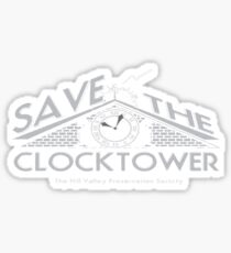 Save the Clock Tower Sticker