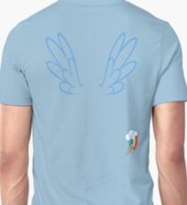 Rainbow Dash Wings & Cutie Mark Unisex T-Shirt