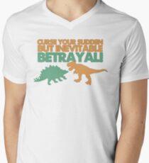 Curse your sudden but inevitable betrayal! Men's V-Neck T-Shirt