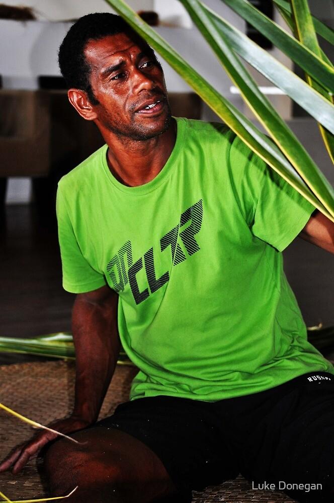 Fijian Basket Weaving by Luke Donegan