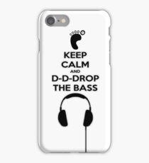 Keep Calm And Drop iPhone Case/Skin