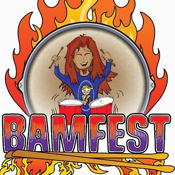 Official BAMFEST 2012 Logo by vampjezzabell