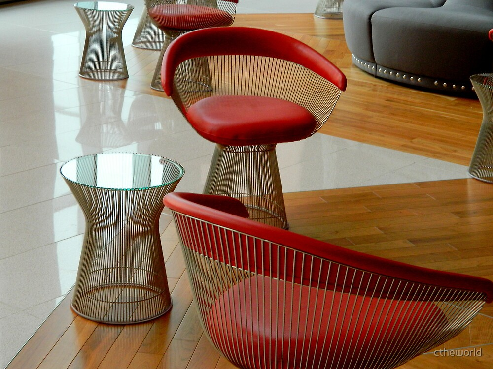 Mod Chairs and Tables  ^ by ctheworld