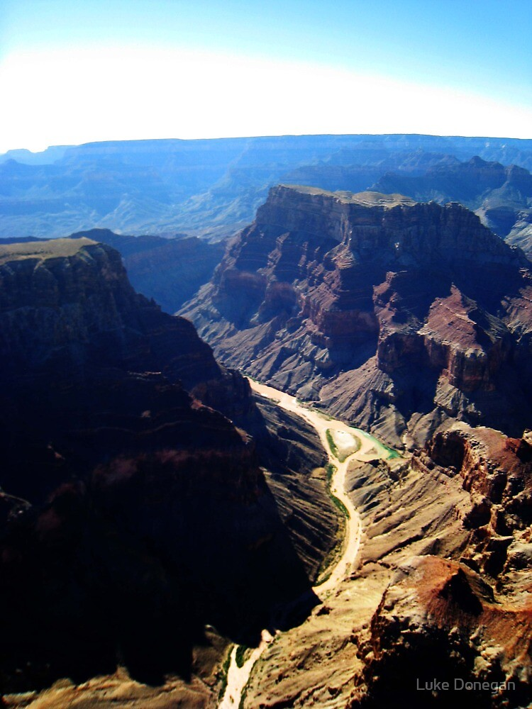 Grand Canyon From a chopper by Luke Donegan