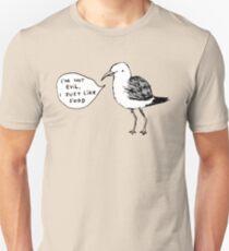 Seagulls Aren't Evil Unisex T-Shirt