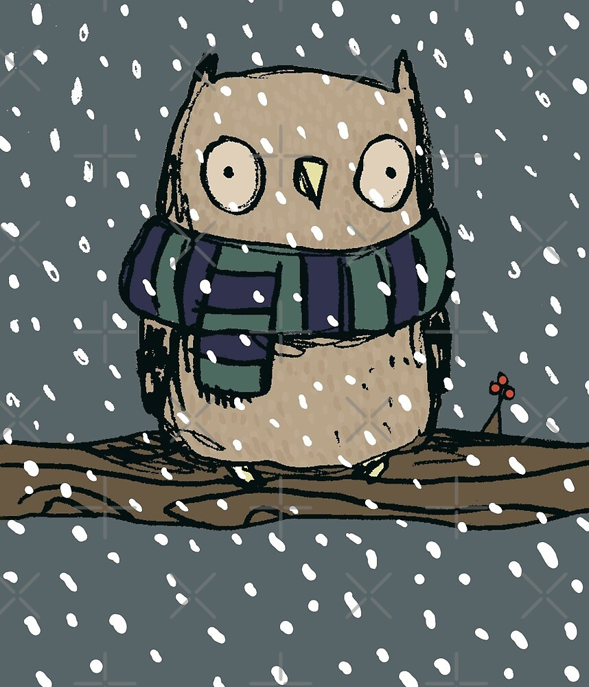 Chilly Owl by Sophie Corrigan