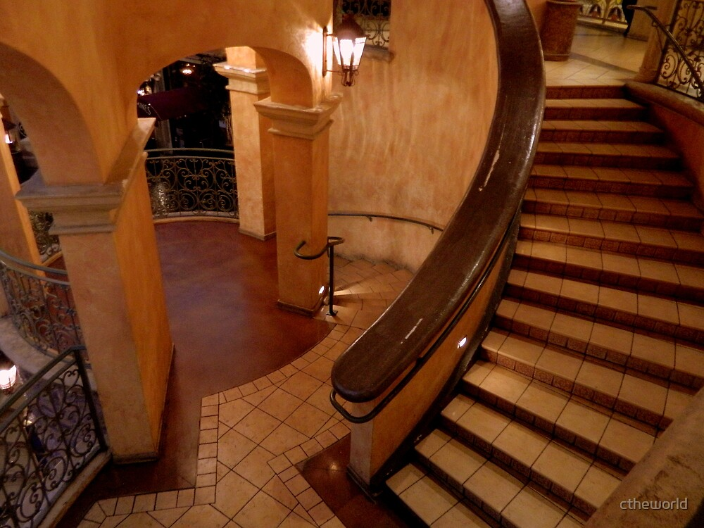 Tiled Staircase  ^ by ctheworld