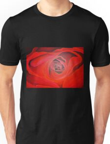 Heart Shaped Valentine Red Rose T-Shirt