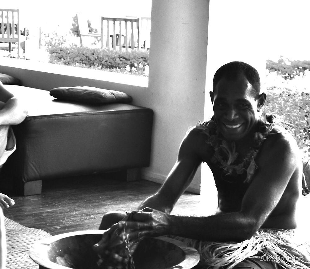 Kava Ceremony Fiji by Luke Donegan