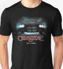 Awesome Movie Car Christine Slim Fit T-Shirt