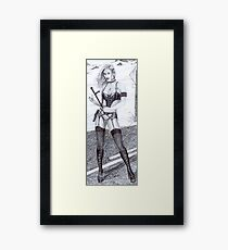 Desert Dream Figure 2 Framed Print