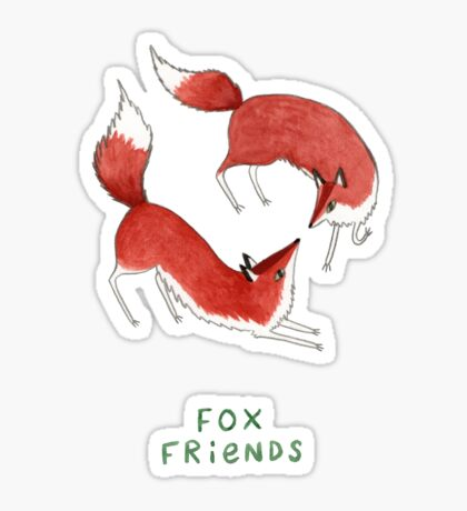 Fox Friends Sticker