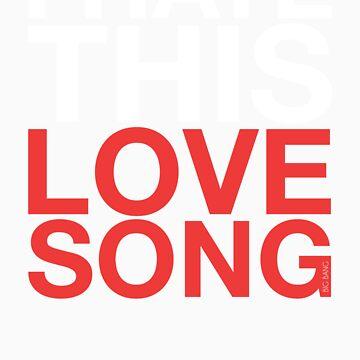 Big Bang - Love Song (White) by AsymApparel