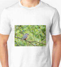 Nuthatch (Sitta europaea)  Unisex T-Shirt