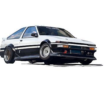 HACHI ROKU - AWESOME CAR by Kowalski71
