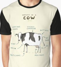 Anatomy of a Cow Graphic T-Shirt
